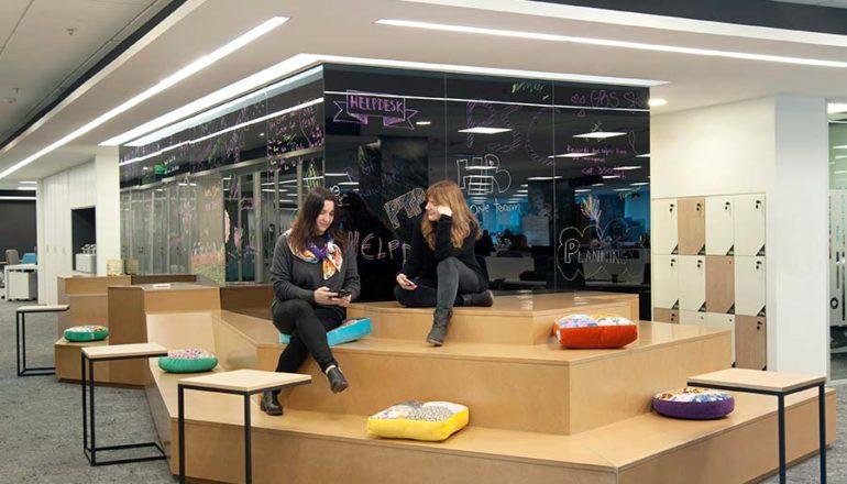 Givaudan Argentina - Diseño de Oficinas por Contract Workplaces